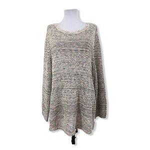 Style & Co. NWT 3X Sweater Chunky Knit Open Stitch